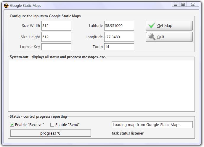 Geocoding tutorial - Accessing Google Static Maps from Java