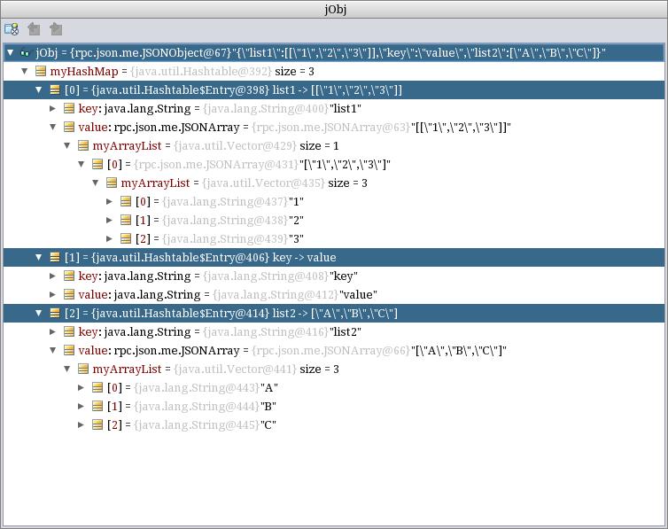 Using JSON for mobile object exchange | developerlife com